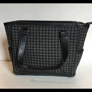 THIRTY ONE CINDY MINI HOUNDSTOOTH BAG